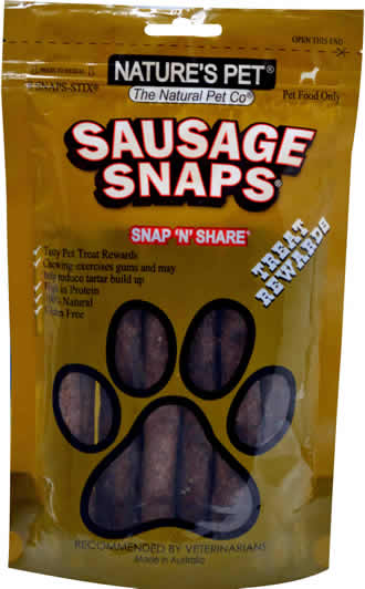 Nature's Pet�<br>Sausage SNAPS� 8 SNAPS-STIX�<br>SNAP'N'SHARE�