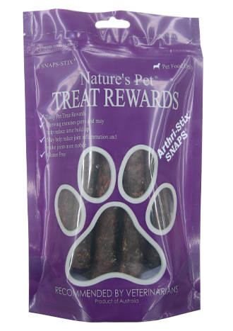 Nature's Pet� SNAPS�<br>Arthri-Stix� 8 SNAP-STIX<br>SNAP'N'SHARE