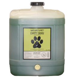 Nature's Pet Dirty Dog Shampoo 20litre